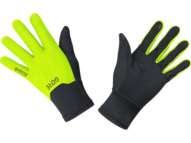 GORE WEAR M Guantes Gore-Tex Infinium, black/neon yellow